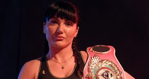 Brodnicka makes the sixth defence of her belt outside of Poland for the first time Photo Credit: wboboxing.com