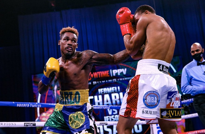 Charlo now holds three of the four world titles at 154lbs Photo Credit: Amanda Westcott / Showtime