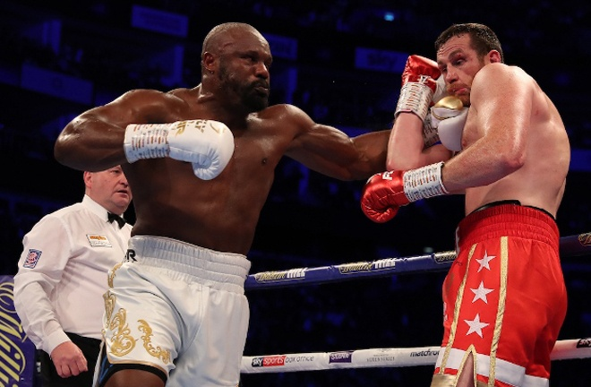 Chisora stopped David Price in four rounds last October Photo Credit: Mark Robinson/Matchroom Boxing