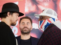 Derek Chisora has warned Oleksandr Usyk ahead of their October 31 showdown Photo Credit: Mark Robinson/Matchroom Boxing