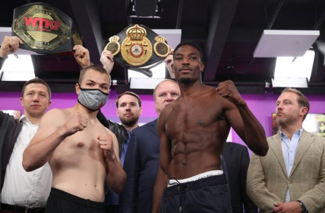 Fedor Chudinov retained his WBA Gold Super-Middleweight title with a twelfth round stoppage over Umar Sadiq