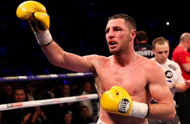 Tommy Coyle expressed his generosity with his act of kindness. Photo Credit: Lawrence Lustig / Matchroom