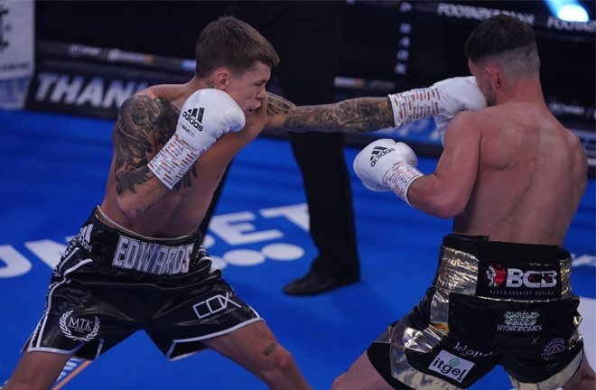 Charlie Edwards battled past the tough Kyle Williams on his Bantamweight bow Photo Credit: Queensberry Promotions