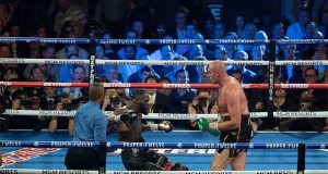 Fury dramatically halted Wilder in seven rounds in February Photo Credit: Pro Boxing Fans
