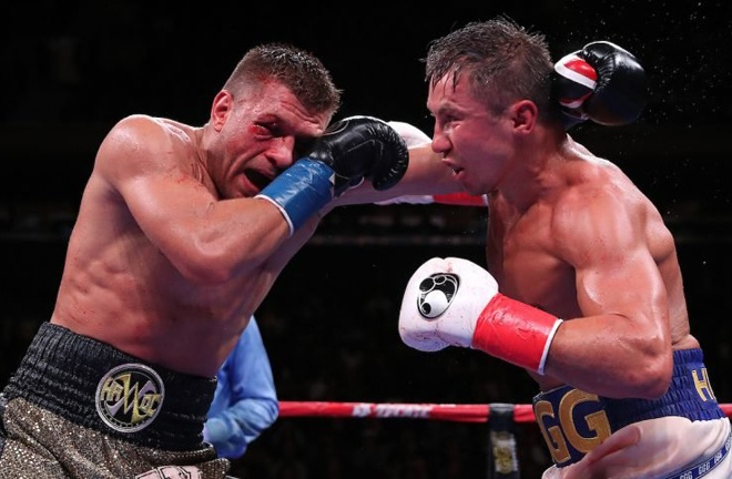 Derevyanchenko pushed Gennady Golovkin to the limit last October Photo Credit: Ed Mulholland/Matchroom Boxing USA