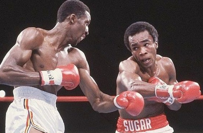 Duva's big break came in 1981, promoting the first encounter between Sugar Ray Leonard and Thomas Hearns Photo Credit: hannibalboxing.com