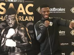 Isaac Chamberlain - One To Watch as he makes his comeback after two years out of the ring. Photo Credit: Hennessy Sports