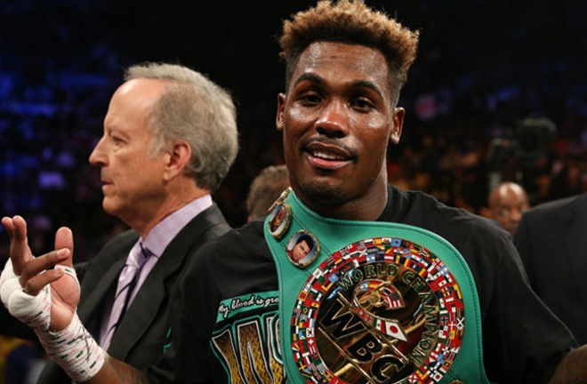 Jermall Charlo defends his WBC crown against Sergiy Derevyanchenko Photo Credit: Janer Bigio Mayweather Promotions