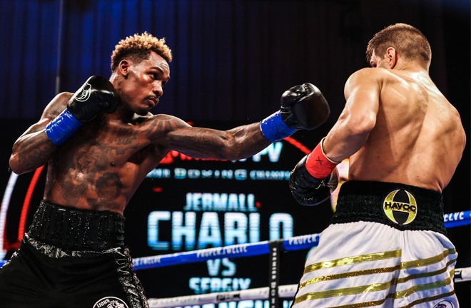 Charlo used his reach to good effect Photo Credit: Amanda Westcott / Showtime