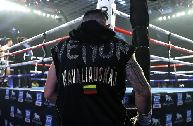 It was a unique experience for 'Mean Machine' who fought behind closed doors inside the Bubble in Las Vegas Photo Credit: Mikey Williams / Top Rank