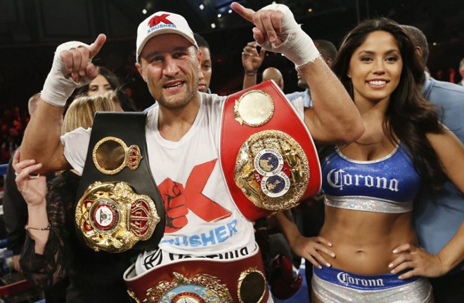 Kovalev has proved the doubters wrong reigning as unified champion from 2014-2016 Photo Credit: AP Photo/Tim Larsen