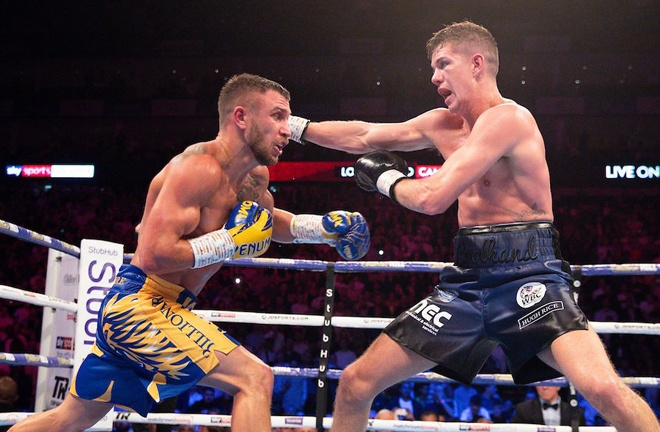 Lomachenko beat Luke Campbell in his last fight in August 2019 Photo Credit: Hull Live