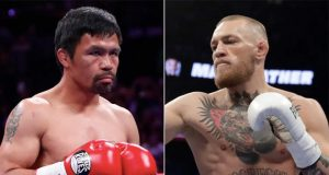 Conor McGregor is set to face Manny Pacquiao in the Middle East in 2021 Photo Credit: John Locher / Isaac Brekken / AP Images via insider.com
