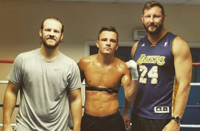 McGregor has joined forces with trainer Ben Davison
