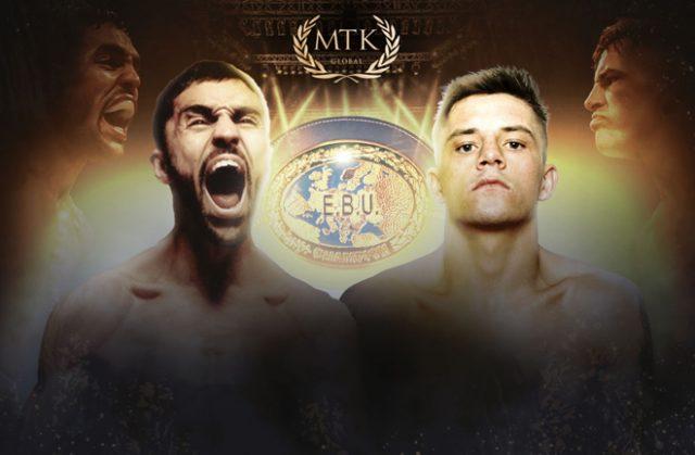 Lee McGregor will face Karim Guerfi for the EBU Bantamweight title in November Photo Credit: MTK Global