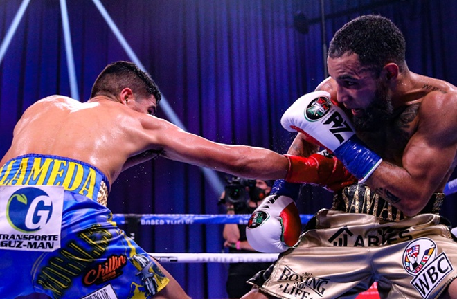 Luis Nery became WBC Super Bantamweight champion with a decision win over Aaron Alameda Photo Credit: Amanda Westcott / Showtime