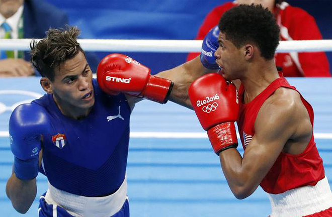 Robeisy Ramirez claimed 2016 Olympic Gold at the expense of Shakur Stevenson Photo Credit: www.wsj.com