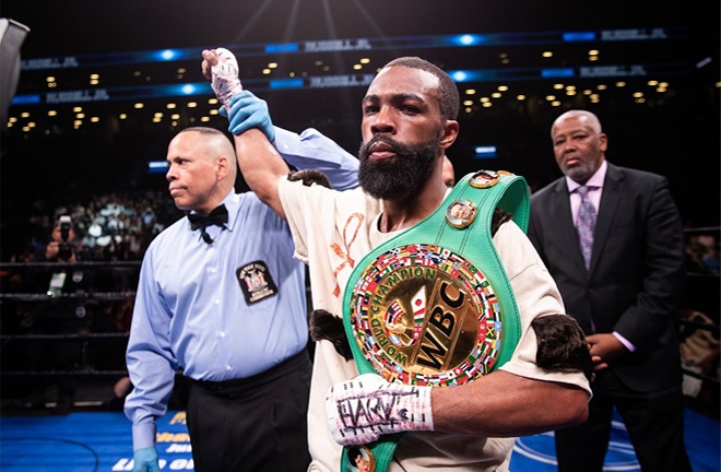 Russell Jr claims there has been no official word from Haney's promoter Matchroom and network DAZN in the terms of the fight Photo Credit: Amanda Westcott