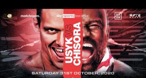 Oleksandr Usyk will finally meet Derek Chisora on October 31 on Sky Sports Box Office and DAZN in the USA Photo Credit: Matchroom Boxing