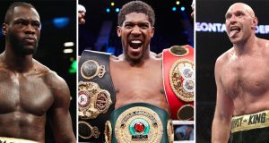 Anthony Joshua says Tyson Fury and Deontay Wilder would not be his toughest opponents Photo Credit: AJ- Mark Robinson/Matchroom Boxing, Fury- Lionel Hahn/PA