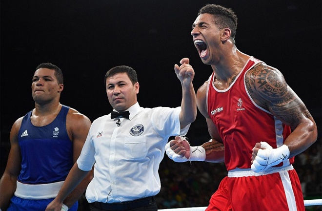 Yoka pipped Joe Joyce to Olympic Gold at the 2016 Rio Olympics Photo Credit: Boxing Scene