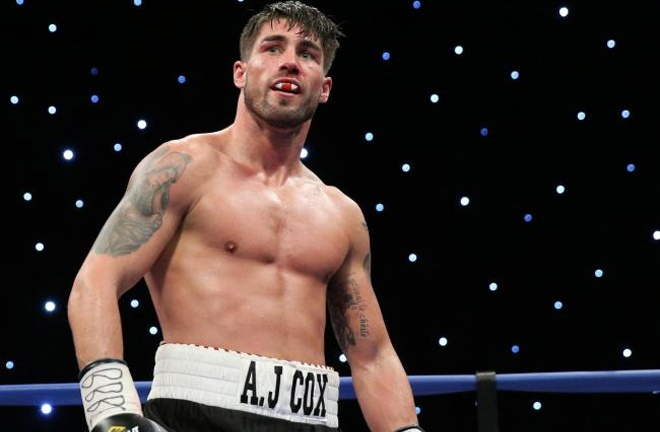 Cox under the bright lights. Photo Credit: South Wales Argus