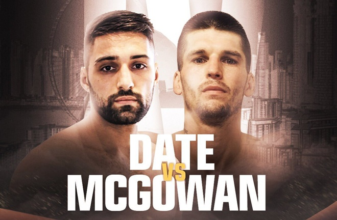 McGowan finds himself a date with Date. Photo Credit: MTK Global