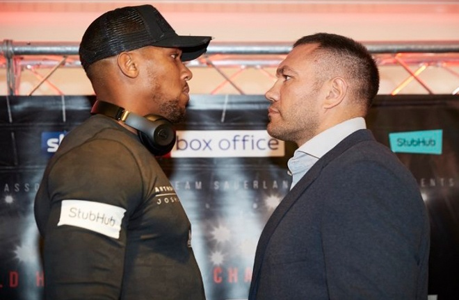 Joshua faces IBF mandatory challenger and former world title challenger Pulev on Dec 12 Photo Credit: Boxing Scene