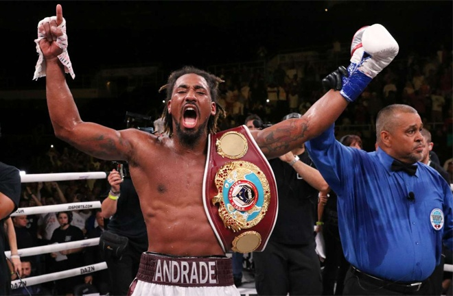 Williams is mandatory challenger to WBO world champion Demetrius Andrade Photo Credit: Ed Mulholland / Matchroom Boxing