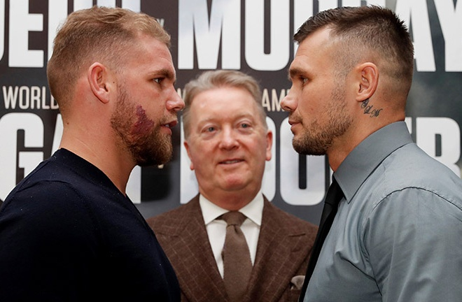 Saunders withdrew from two scheduled bouts with Murray through injury Photo Credit: Action Images/Matthew Childs