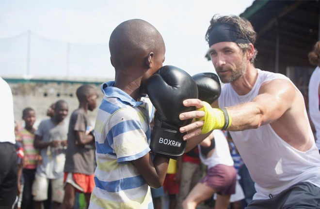 Executive Director, Jason Scalzo is bring boxing to Liberia through his Boxing Is Love project in association with BOXRAW