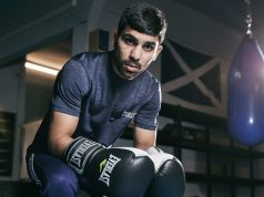 Former British Bantamweight champion Kash Farooq faces Martin Tecuapetla Photo Credit: Mark Robinson/Matchroom Boxing
