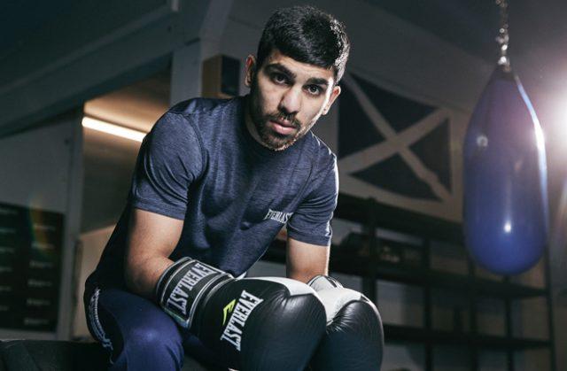 Former British Bantamweight champion Kash Farooq faces Martin Tecuapetla Photo Credit: Mark Robinson/Matchroom Boxing