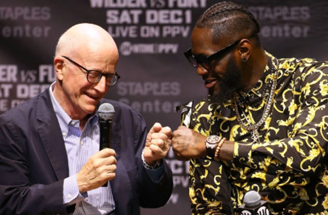 Wilder's manager Shelly Finkel insists the trilogy is still on for December