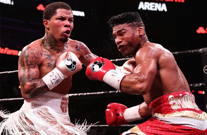Gamboa was stopped in the final round by Gervonta Davis in December Photo Credit: Amanda Westcott/SHOWTIME