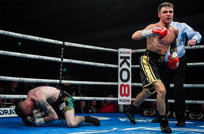 Harris stopped Paddy Barnes in four rounds last October Photo Credit: David Fitzgerald/Sportsfile
