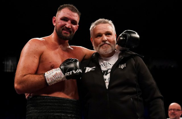 Hughie Fury will return on November 21, Peter Fury has confirmed Photo Credit: Dave Thompson/Matchroom Boxing