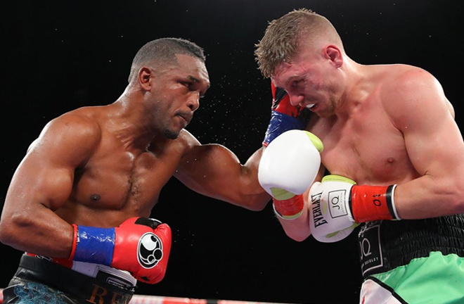 Johnson stopped Jason Quigley in nine rounds last time out Photo Credit: Tom Hogan/Golden Boy