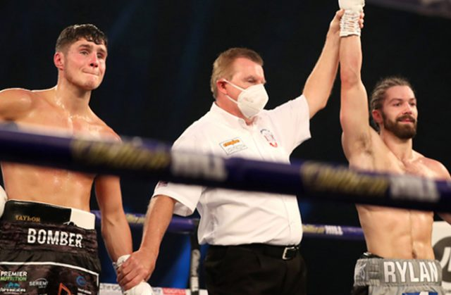 Laws was left devastated as Charlton stormed to a breakout victory Photo Credit: Mark Robinson/Matchroom Boxing