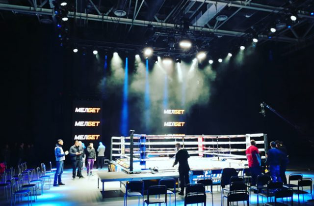Al Siesta presented Kold Wars 2 Battle 2 from Minsk on Thursday Photo Credit: proboxing-fans.com