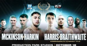 MTK Global return on Sunday with Jay Harris' Commonwealth title defence against Marcel Braithwaite in Wakefield Photo Credit: MTK Global