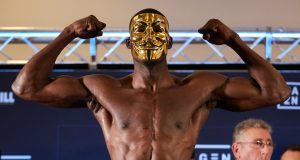Richard Riakporhe has vacated his British Cruiserweight crown Photo Credit: Mark Robinson / Matchroom Boxing