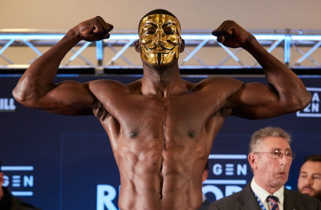 Richard Riakporhe has vacated his British Cruiserweight crown Photo Credit: Mark Robinson / Matchroom Boxing