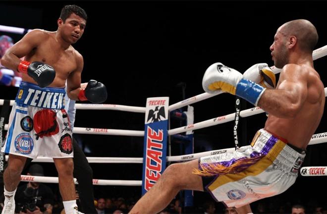 'Chocolatito' knocked out Kal Yafai in February to claim the WBA Super Flyweight belt Photo Credit: Ed Mulholland / Matchroom Boxing