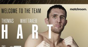 Thomas Whittaker-Hart has signed a multi-fight promotional deal with Eddie Hearn's Matchroom Boxing