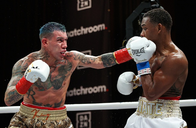 Pre-fight underdog Rosado pushed Jacobs all the way Photo Credit: Ed Mulholland/Matchroom Boxing