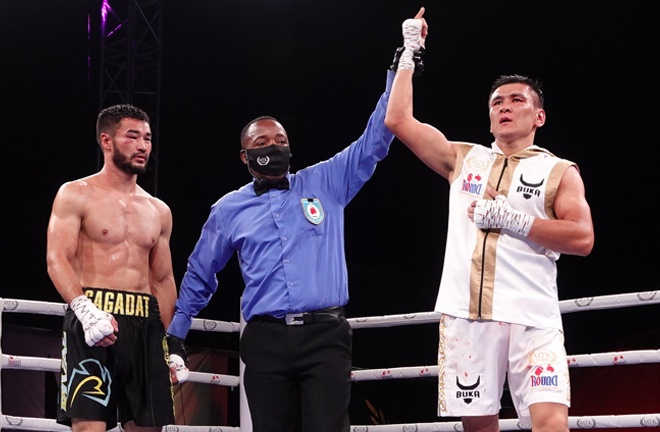 Kulakhmet looks to claim a second professional win on Wednesday Photo Credit: MTK Global
