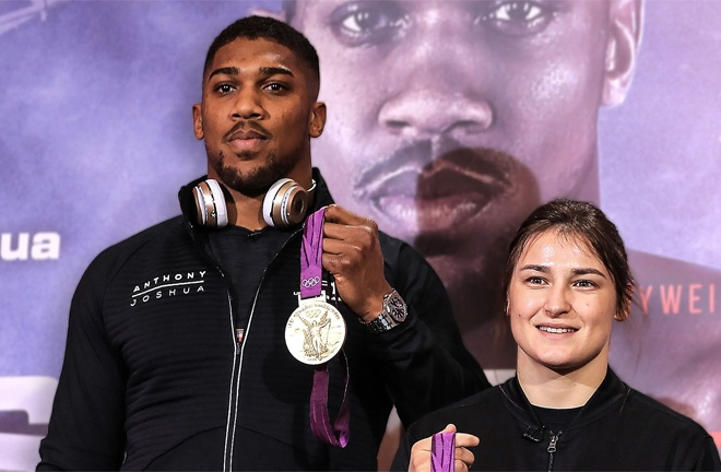 Katie Taylor says she is drawing inspiration from Anthony Joshua ahead of her clash with Miriam Gutierrez Photo Credit: www.essentiallysports.com