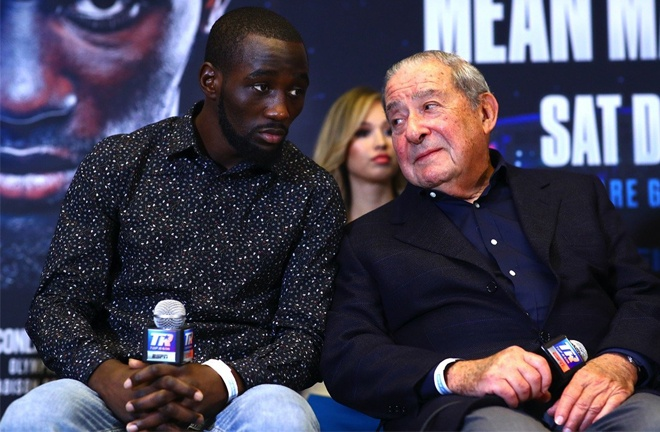 Crawford's contract with Bob Arum and Top Rank runs until October 2021 Photo Credit: Mikey Williams/Top Rank