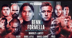 Conor Benn headlines against former Shawn Porter foe Sebastian Formella on November 21